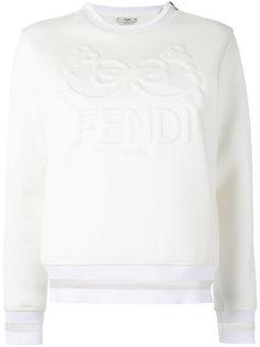 толстовка с вышивкой Fendi
