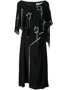 платье свободного кроя Valance  Chalayan