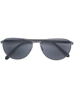 затемненные солнцезащитные очки Oliver Peoples
