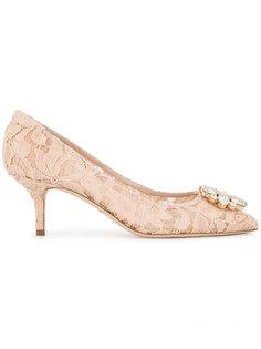 туфли-лодочки с кристаллами Belucci  Dolce & Gabbana