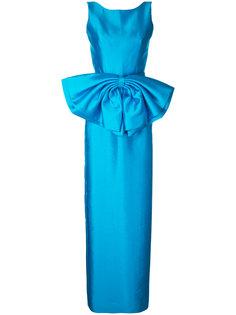 платье с открытой спиной, бантом и юбкой-карандаш Bambah