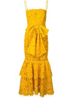 платье с двухслойными рюшами Bambah
