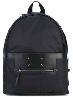 классическая рюкзак с кожаными панелями Maison Margiela