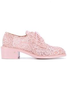 туфли со шнуровкой Laurence Dacade