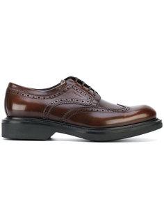 туфли дерби на шнуровке Salvatore Ferragamo