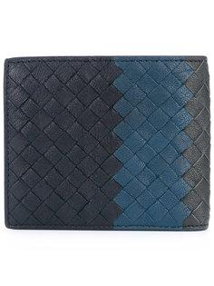 плетеный бумажник Bottega Veneta