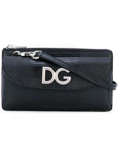 сумка на плечо с логотипом Dolce & Gabbana