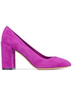 туфли на массивном каблуке Salvatore Ferragamo