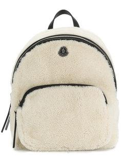 рюкзак с отделкой из овчины Moncler
