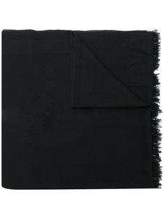 длинный шарф Valentino Garavani с бахромой Valentino