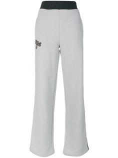 спортивные брюки с украшением из бусин Jo No Fui
