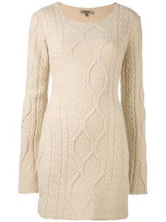 трикотажное платье с длинными рукавами Yeezy