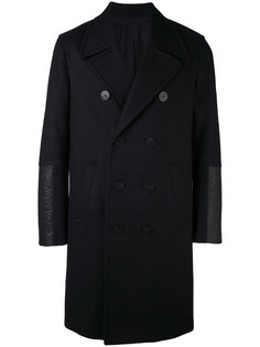 двубортное пальто Neil Barrett