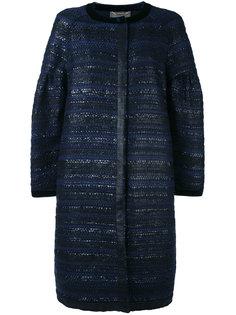 твидовое пальто Alberta Ferretti