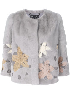норковая куртка Mimosa Cara Mila