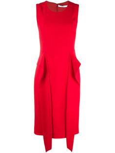 платье с драпировками Givenchy