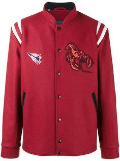 бейсбольная куртка с нашивками Lanvin
