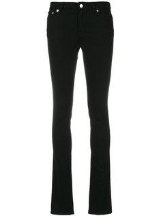 узкие джинсы с розовыми звездами Givenchy