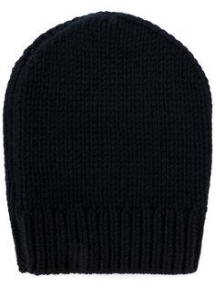 шапка ребристой вязки Eleventy