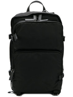 рюкзак с передним карманом на молнии Prada