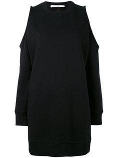короткое платье с открытыми плечами Givenchy