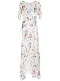 длинное платье с запахом Olympiah