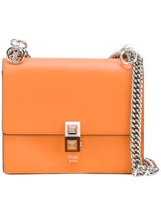 сумка на плечо с заклепками Fendi