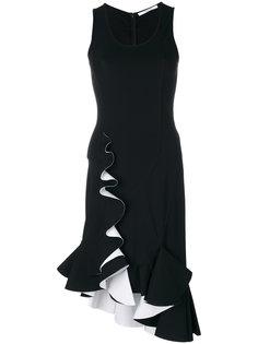 платье миди с расклешенным подолом Givenchy