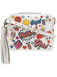 сумка через плечо All Over Stickers Anya Hindmarch
