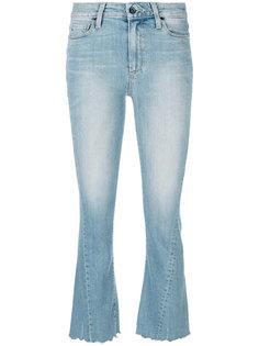 укороченные джинсы стиля буткат Paige