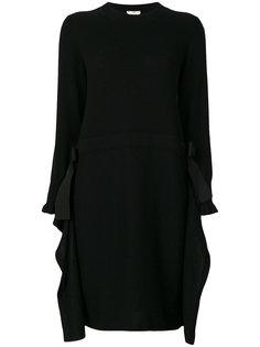 платье с длинными рукавами Fendi