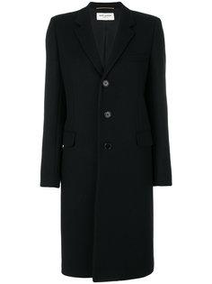 классическое пальто Chesterfield Saint Laurent