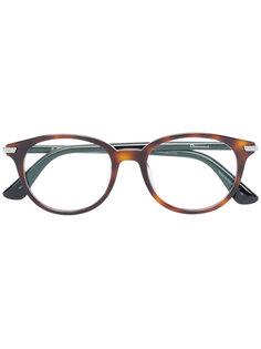 очки в оправе с черепаховым эффектом Dior Eyewear