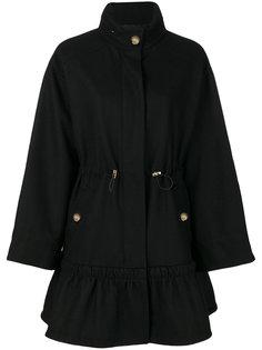 классическое пальто на молнии  Boutique Moschino