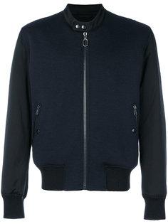 двухцветная куртка-бомбер Lanvin