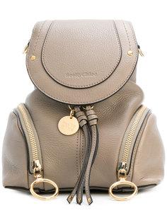 мини рюкзак с откидным клапаном See By Chloé