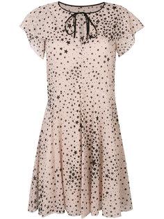 мини-платье с узором из звезд Red Valentino