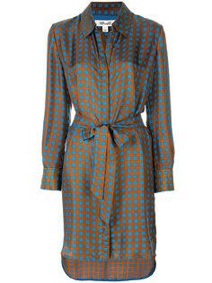 платье-рубашка с геометрическим рисунком Dvf Diane Von Furstenberg