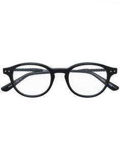 очки в округлой оправе Bottega Veneta Eyewear