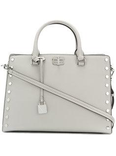 сумка-тоут с отделкой заклепками Michael Michael Kors