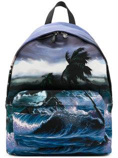 рюкзак с принтом океана Givenchy