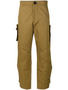 укороченные брюки-карго Marni
