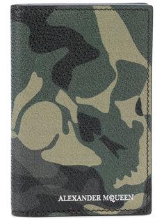 кошелек с камуфляжным рисунком Alexander McQueen