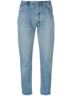 прямые джинсы Re/Done