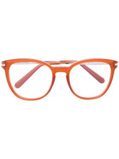 """ацетатные очки с оправой """"вайфарер"""" Chloé Eyewear"""