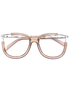 очки в оправе бабочка Chloé Eyewear