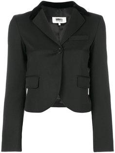 укороченный пиджак Mm6 Maison Margiela