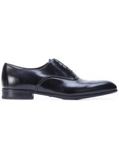 туфли Dunn на шнуровке  Salvatore Ferragamo
