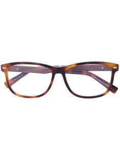 очки для зрения с эффектом черепахового панциря Ermenegildo Zegna