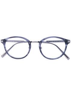 очки в круглой оправе Ermenegildo Zegna
